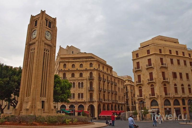 Площадь Nijmeh в Бейруте / Фото из Ливана