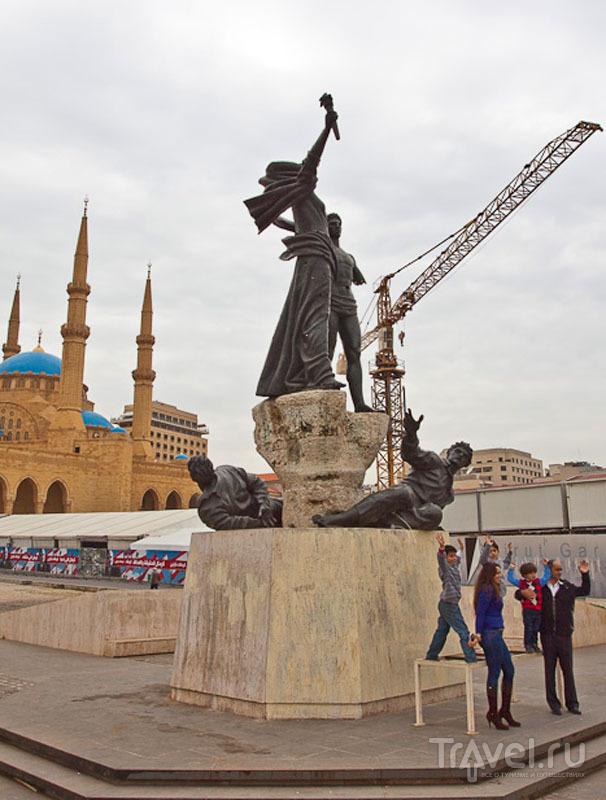 Алощадь Martyr's в Бейруте / Фото из Ливана