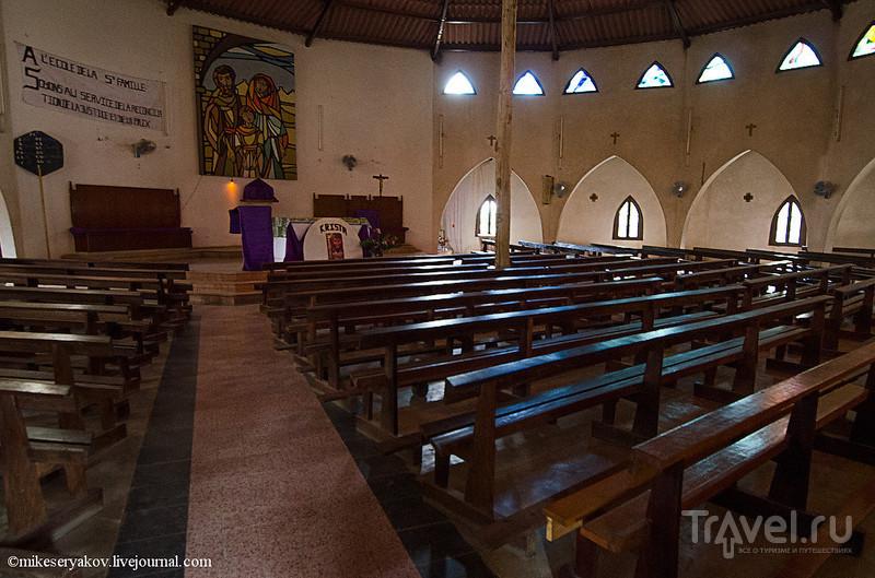 Церковь Mar Lodg в Сенегале / Фото из Сенегала