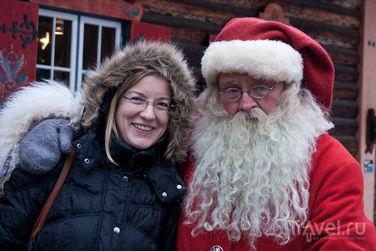 Как поехать к Санта-Клаусу в Швецию / Швеция