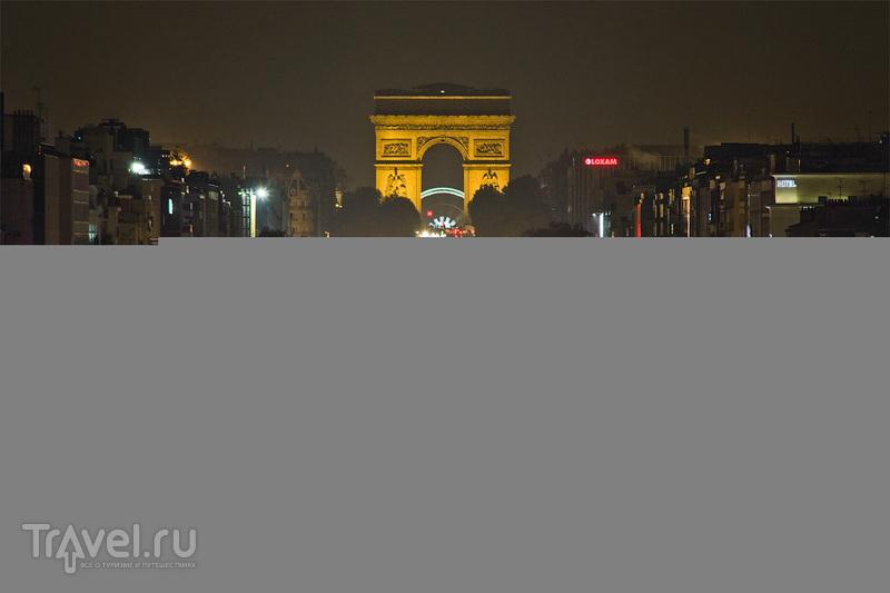 Ночной Дефанс / Франция