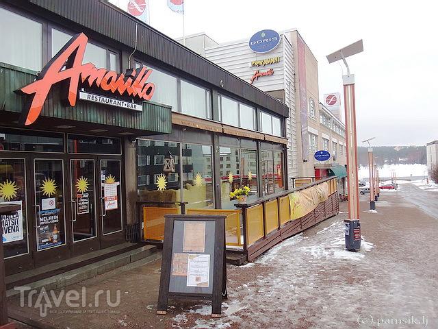 Ресторан Amarillo на главной торговой улице Рованиеми - Koskikatu / Фото из Финляндии