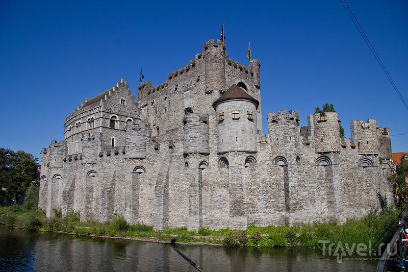 Замок Гравенстин в Генте / Фото из Бельгии