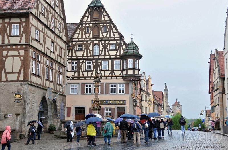 Колодец Святого Георга в Ротенбурге-на-Таубере / Фото из Германии