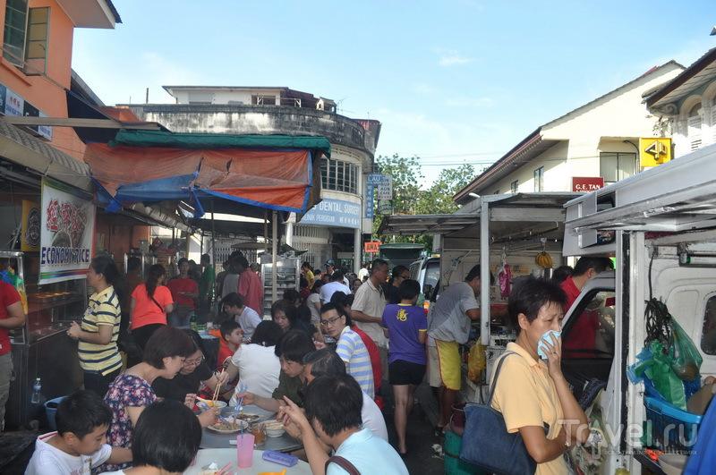Утро на уличном рынке, Пенанг