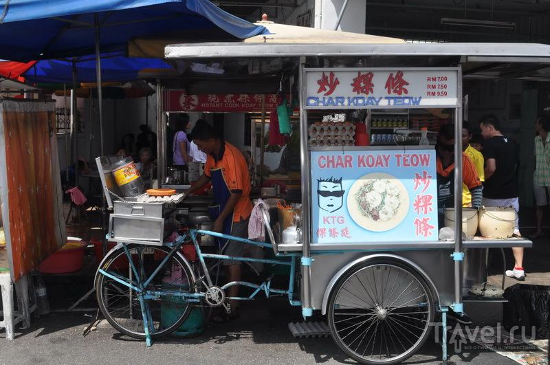 Уличный продавец чакотьяу