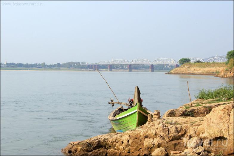 Инва - заброшенная столица / Фото из Мьянмы
