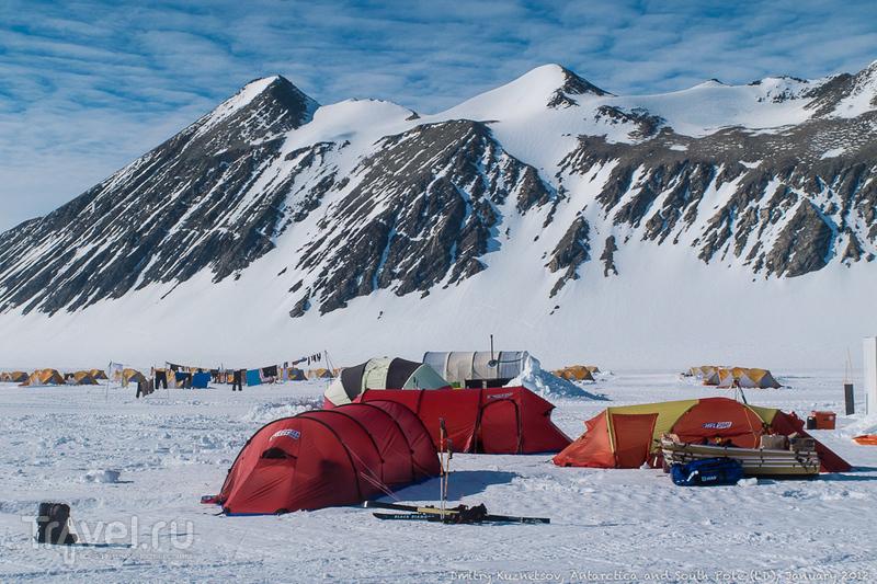 Антарктический дневник - Union Glacier Camp / Антарктика