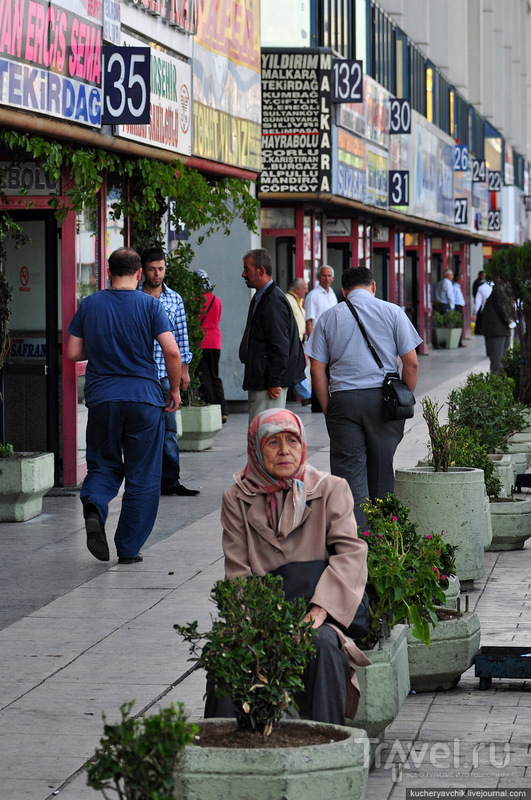 Шум и гам на центральном автовокзале Стамбула / Турция