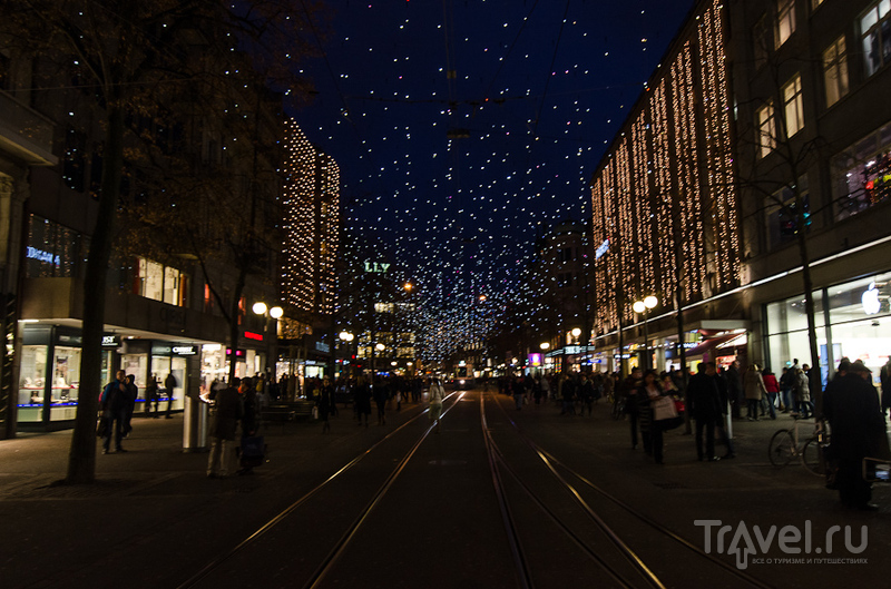 Швейцарские заметки. Вечерне-Рождественский Цюрих / Швейцария