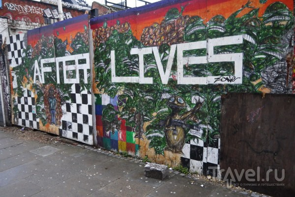 Уличный арт Лондона / Великобритания