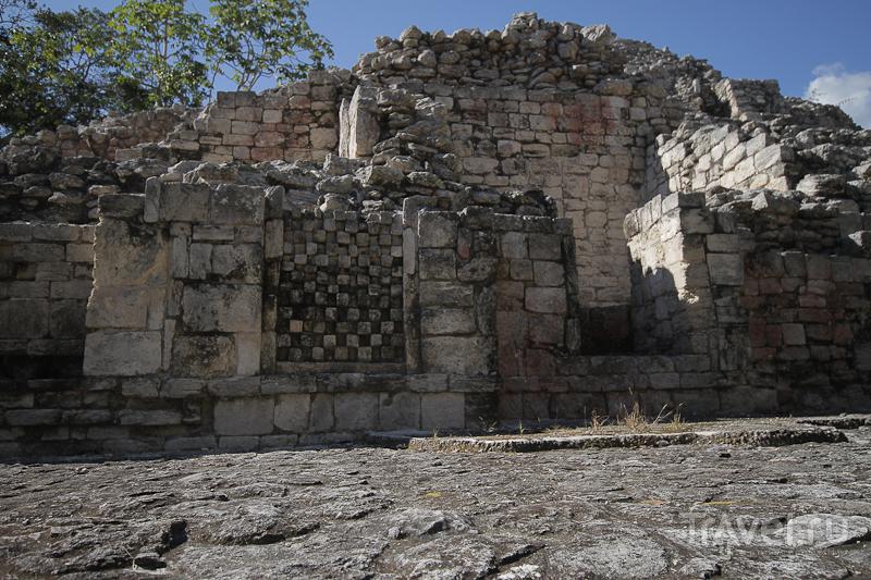 Руины майя без туристов / Мексика
