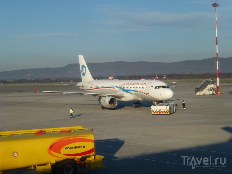 Самолет Аэрофлота во Владивостоке / Россия