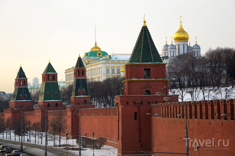 Москва предновогодняя / Россия