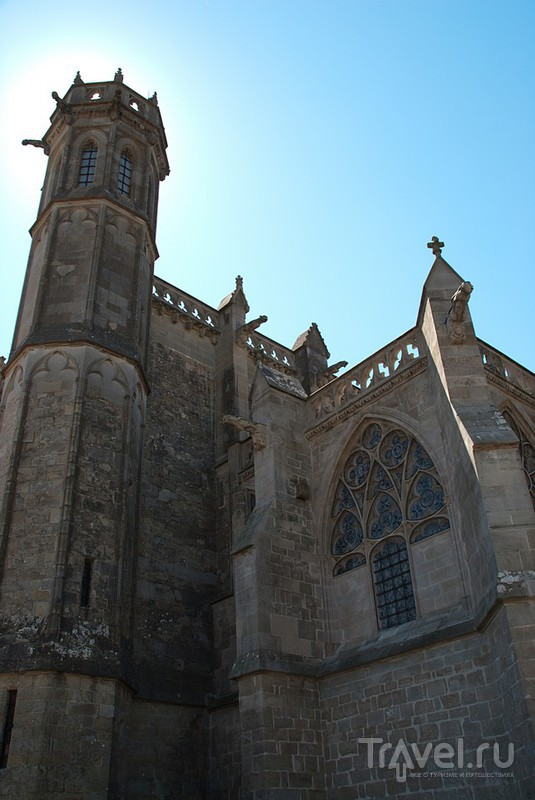 Базилика Святого Назария  в Каркасоне / Фото из Франции