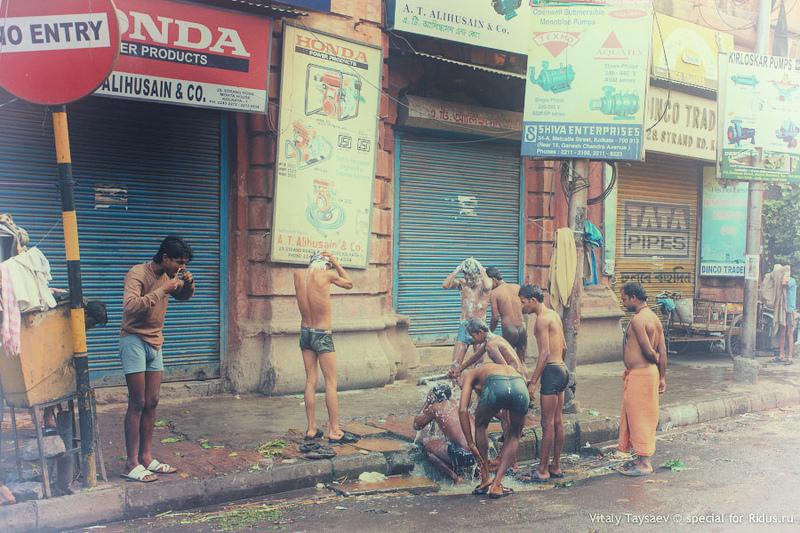 Калькутта или Лондон после ядерного взрыва / Фото из Индии