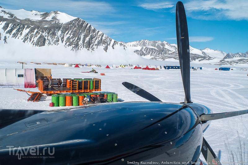 Антарктический дневник - на лыжах к Южному полюсу / Антарктика