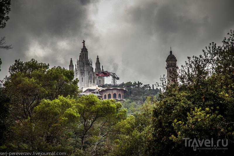 Гора Тибидабо в Барселоне / Фото из Испании