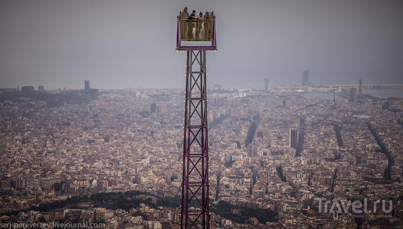 Самая высокая точка Барселоны / Фото из Испании