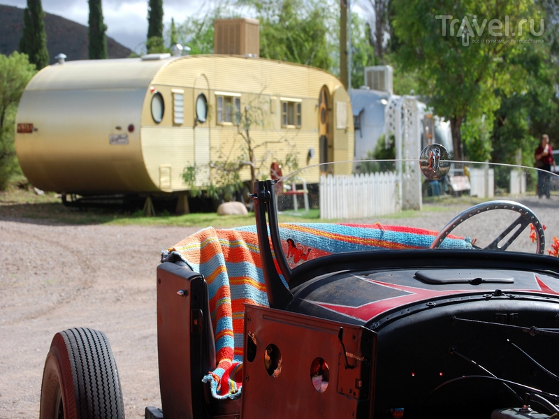 Трейлер Airfloat - символ путешествующей Америки середины 1950-х / США