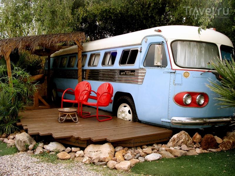 Tiki Bus - один из самых старых трейлеров парка, выпущенный в 1947 году / США