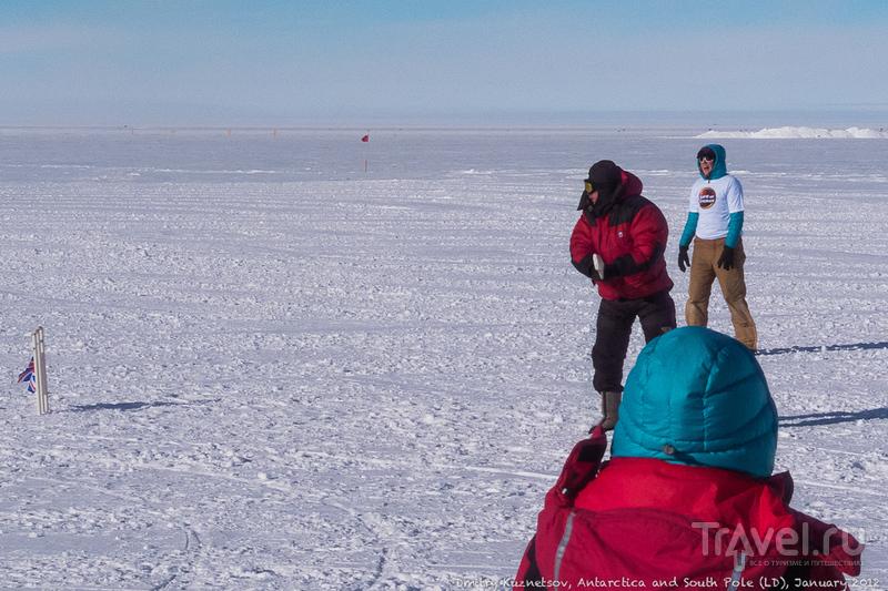 Антарктический дневник - прогулки на Полюсе, в обратный путь / Антарктика
