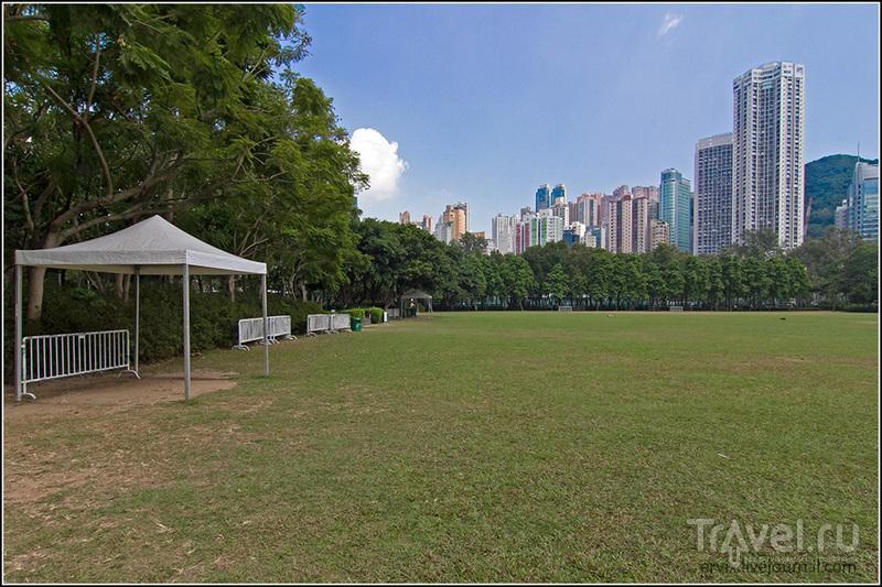 """Парк """"Виктория"""" в Гонконге / Фото из Гонконга"""