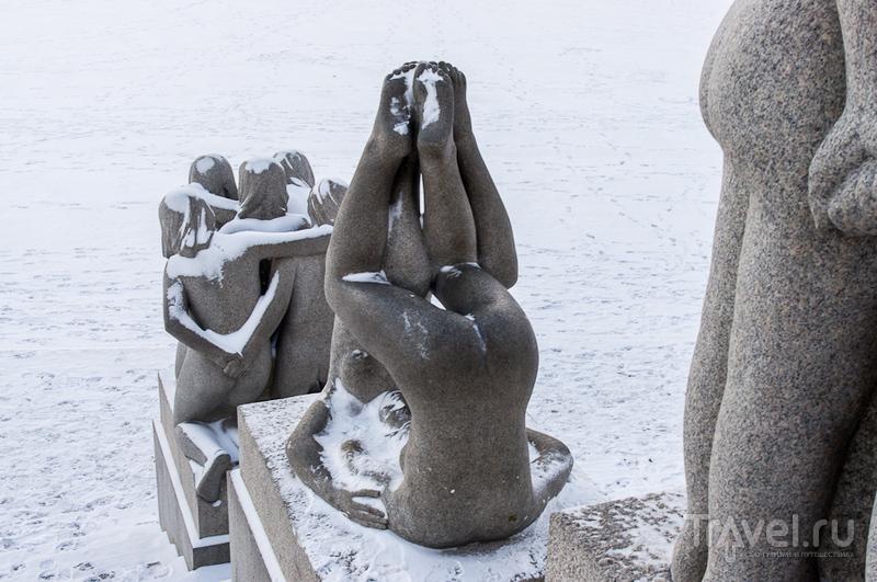Парк скульптур Вигеланда / Фото из Норвегии