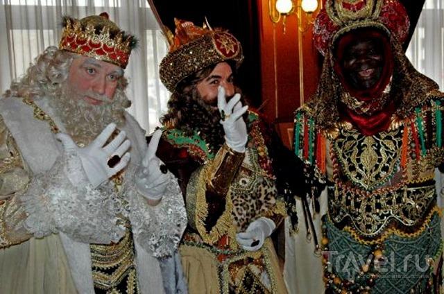 Торжественное шествие Волшебных королей (6 января) / Испания