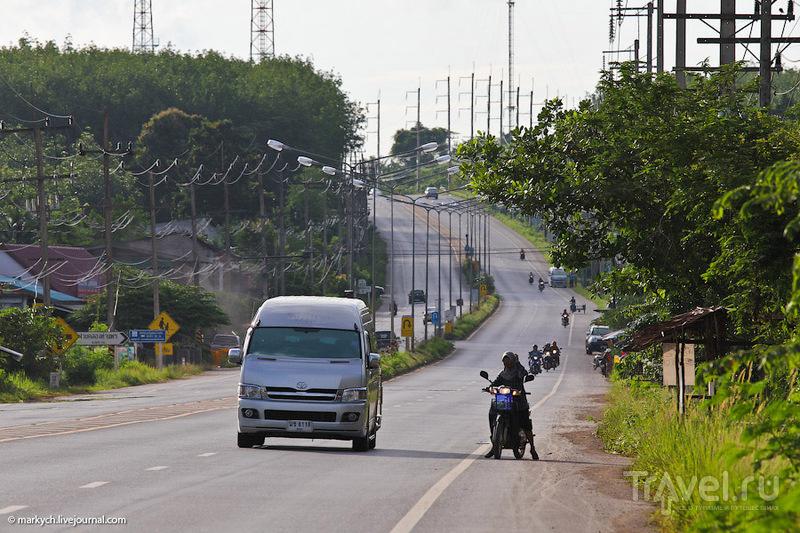 Виза-ран в Малайзию. Дорога обратно / Таиланд