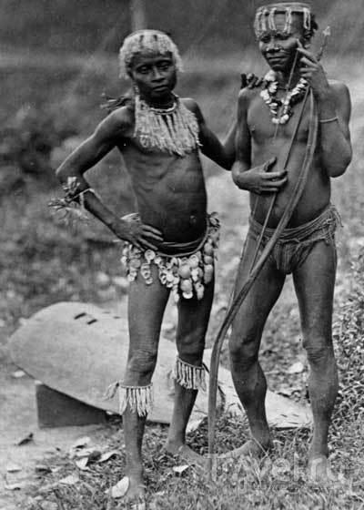 Племя Джарава, Андаманские острова, Индия / Индия