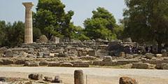 Олимпия - родина Олимпийских игр. // Wikipedia