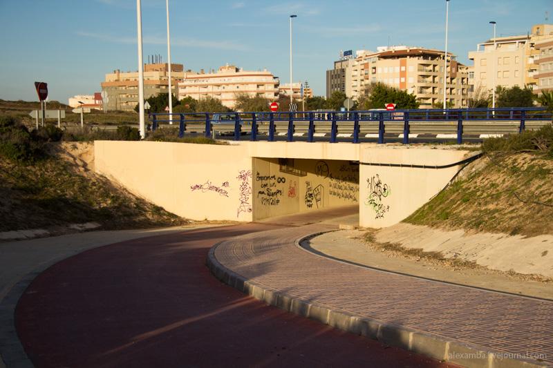 Велодорожки в Испании. Торревьеха / Испания