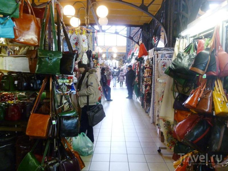 Центральный рынок Будапештa / Венгрия