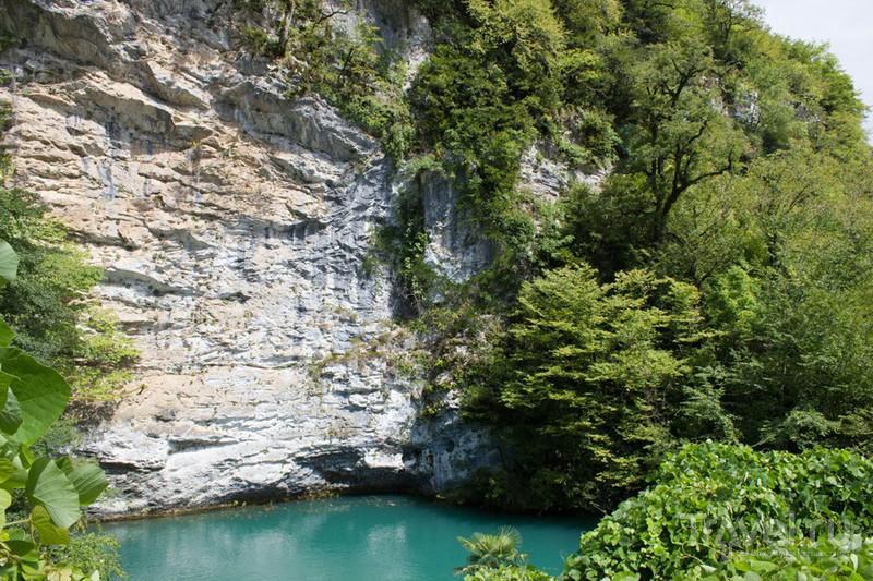 Голубое озеро, Абхазия / Фото из Абхазии