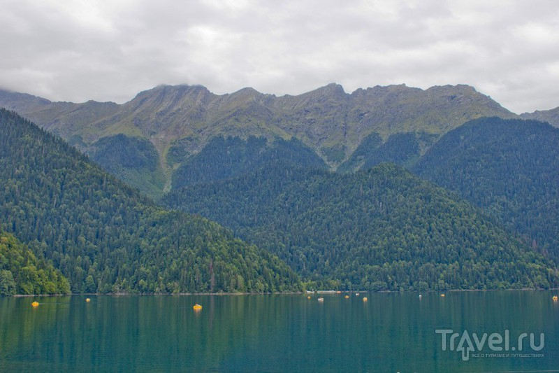 Озеро Рица, Абхазия / Фото из Абхазии