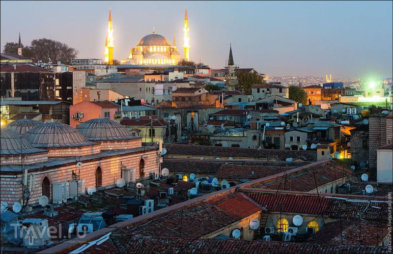 Крыша Гранд-Базара в Стамбуле / Фото из Турции