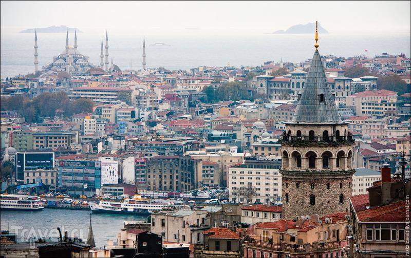 Галатская башня в Стамбуле / Фото из Турции