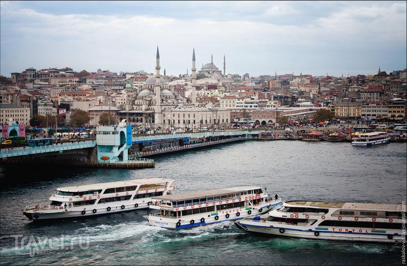Галатский мост в Стамбуле / Фото из Турции