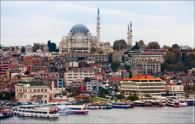 Мечеть Сулеймание в Стамбуле / Фото из Турции