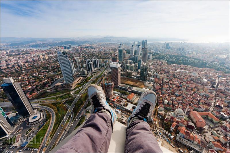 Вид с небоскреба Sapphire в Стамбуле / Фото из Турции