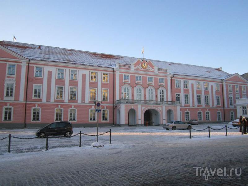 Парламент  в Таллине / Фото из Эстонии