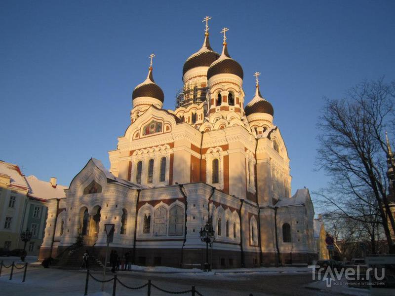 Православный собор Александра Невского в Таллине / Фото из Эстонии