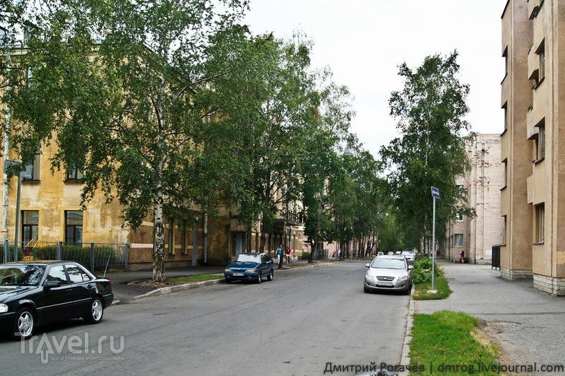 Улица Всеволода Вишневского в  Кронштадте / Фото из России