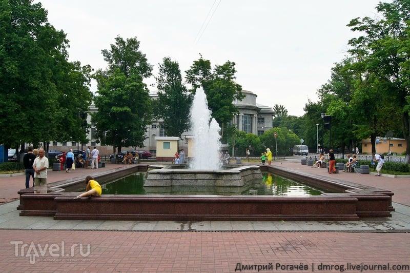 Фонтан в Андреевском саду,  Кронштадт / Фото из России
