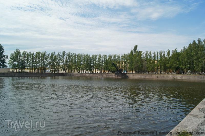 Итальянский пруд в  Кронштадте / Фото из России
