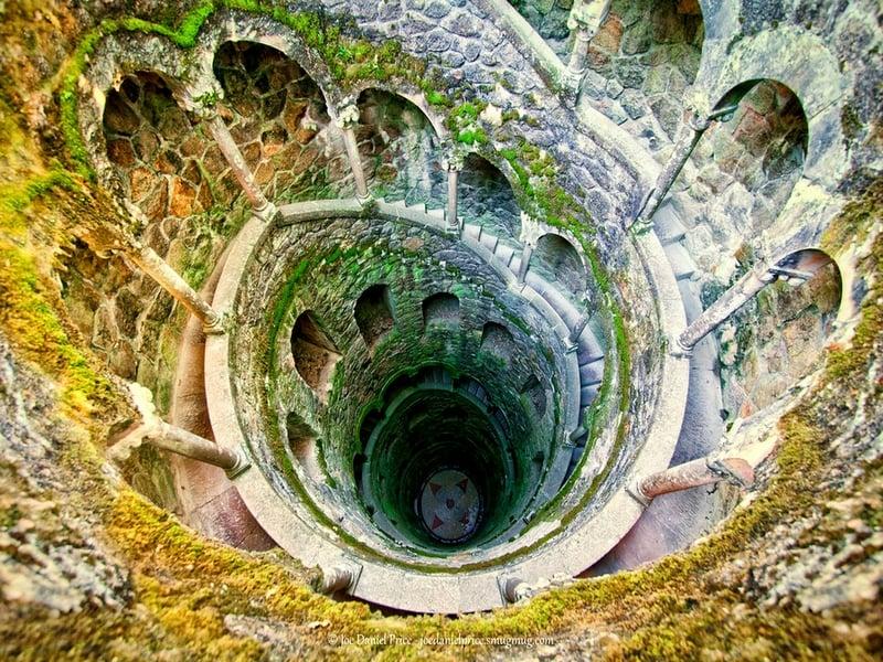 the iniciatic well 1 Колодец просвящения. Или подземные башни Португалии