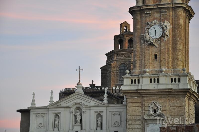 Картинки из Испании. Сарагоса перед закатом / Испания