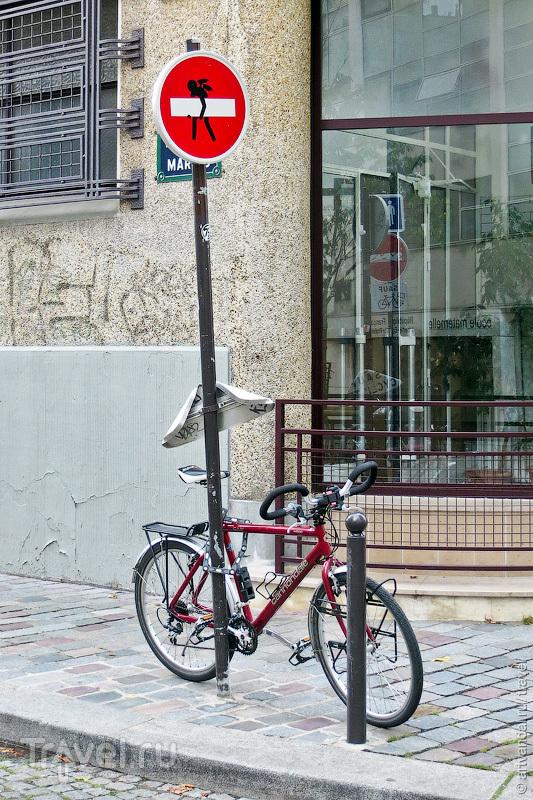Стрит-арт Парижа. Клет Абрахам / Франция