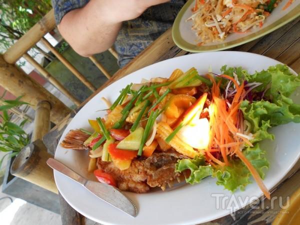 Еда на Самуи / Таиланд